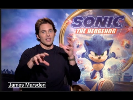 "James Marsden reveals  ""SONIC the Hedgehog"""