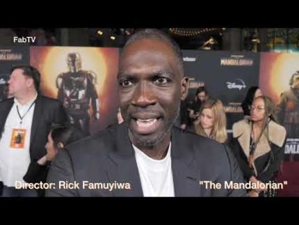 """The Mandalorian""  Director: Rick Famuyiwa"