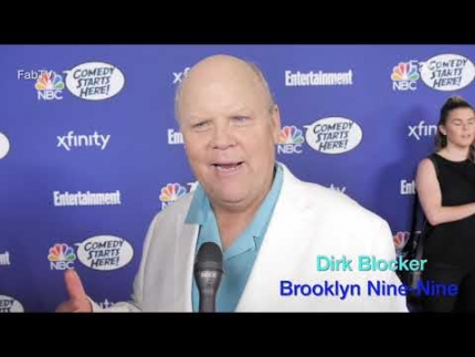 "Dirk Blocker of ""Brooklyn Nine-Nine"""