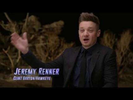 Jeremy Renner Hawkeye  Avengers: Endgame