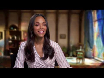 "ZOE SALDANA is 'Adelina Fortnight' in ""MISSING LINK"""