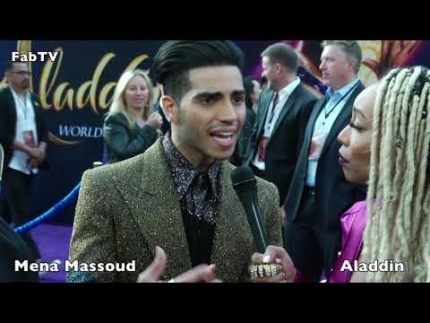 "Mena Massoud at the ""ALADDIN"""
