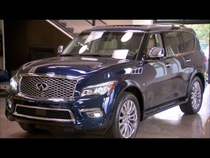 Car Tech - 2015 Infiniti QX80