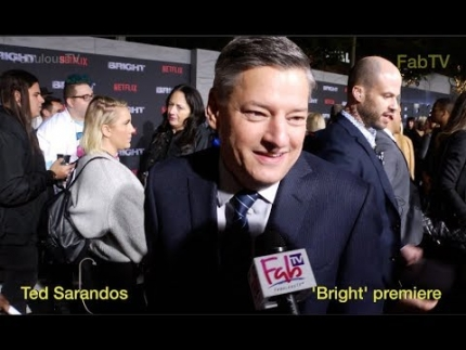 Netflix's Director of 'Content Ted Sarandos' at 'BRIGHT' on FabTV