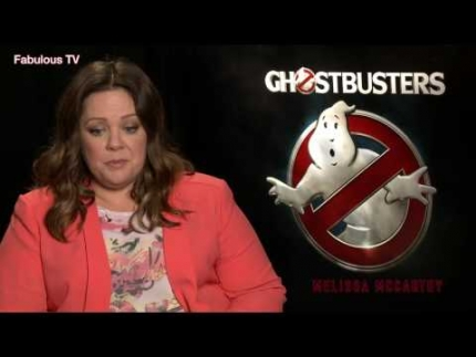 Melissa McCarthy talks about Ghostbusters on  Fabulous TV