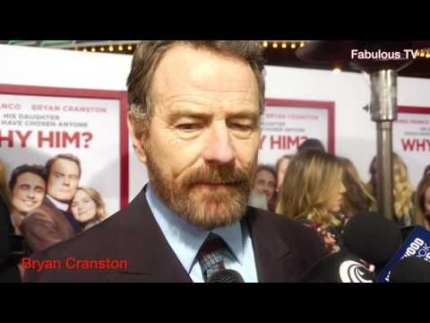Why Him?  'Bryan Cranston' talks about dating for daughters on Fabulous TV