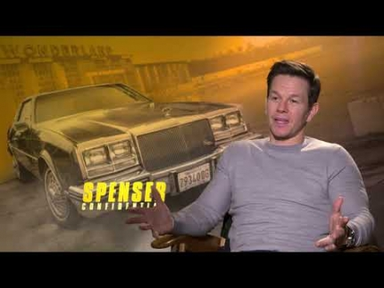 "Mark Wahlberg opens up about ""Spenser Confidential"""