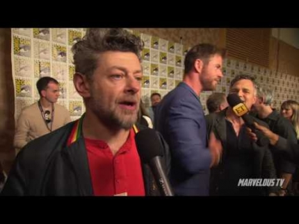 Andy Serkis at Comic-Con 2017