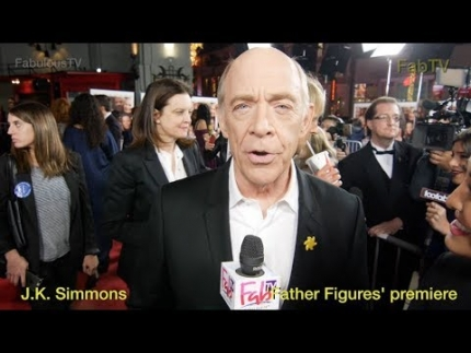 J.K. Simmons at 'Father Figures' premiere on FabTV