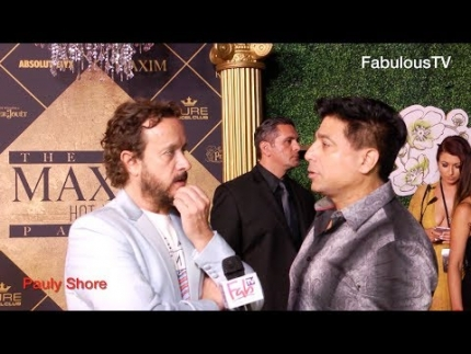 Pauly Shore still has 'IT' at 'MAXIM's HOT 100' party on FabTV