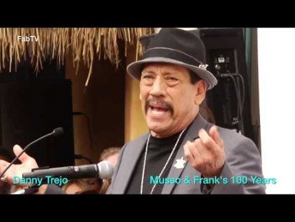 "Danny Trejo speech at ""Frank & Musso's"" 100th..."