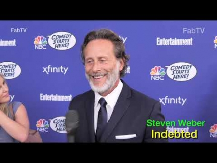 "Steven Weber talks  about ""Indebted"" on NBC"