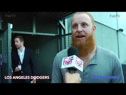 "Los Angeles Dodger ""Justin Turner""  at celebrity poker"