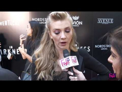 """In Darkness"" World Premiere with actress Natalie Dormer"