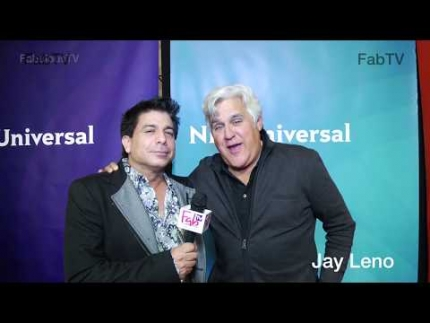 Jay Leno at NBC press tour details real comedy on FabTV