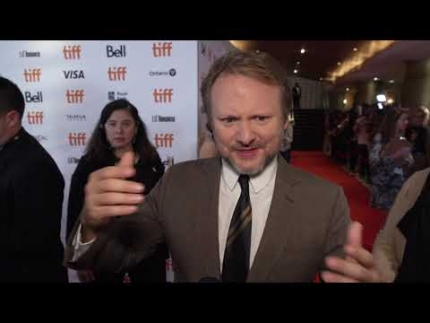 "Writer / Director of ""KNIVES OUT""  Rian Johnson  at the premiere"