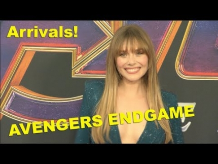 """Avengers Endgame""  premiere arrivals with ALL cast members"