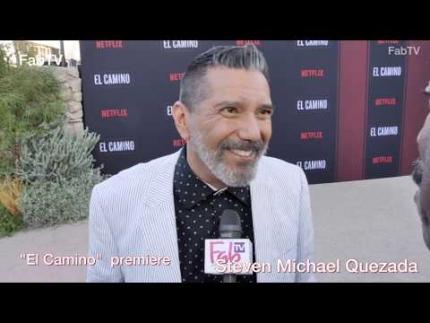 """Steven Michael Quezada \'EL CAMINO""""  premiere & red carpet"""
