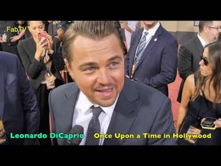 Leonardo DiCaprio 'Once Upon a Time in Hollywood' premiere  (Exclusive)