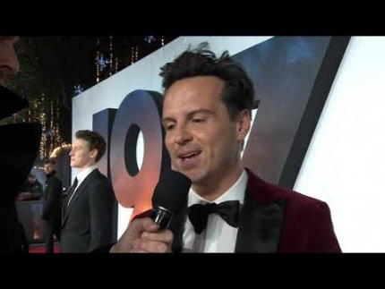 """1917"" UK Premiere with  Andrew Scott - ""Lieutenant..."