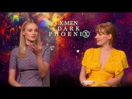 Dark Phoenix:  Sophie Turner & Jessica Chastain