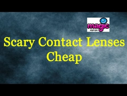 Scary Contact Lenses Cheap