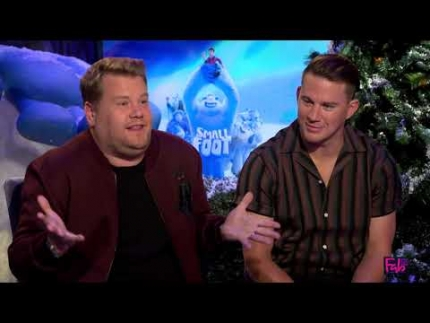 SmallFoot Channing Tatum, James Corden & Common