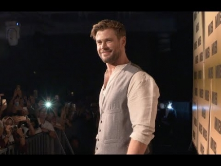 "Men in Black  ""Chris Hemsworth"" PAN ASIA MEDIA SUMMIT MIB FAN EVENT"