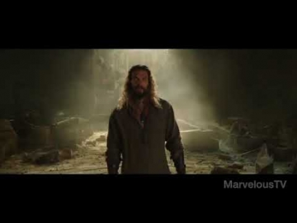 Jason Momoa is Aquaman!!!! Trailer