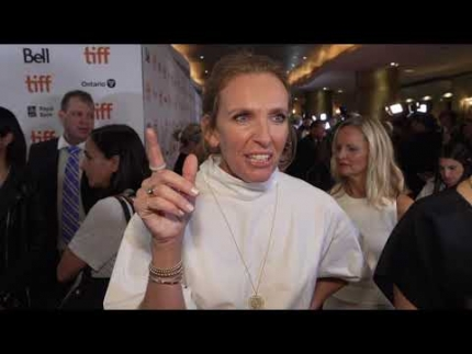Toni Collette  at the KNIVES OUT world premiere