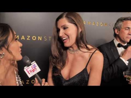 "Trace Lysette ""HUSTLERS""  ""77th Golden Globes"" Amazon Studios red carpet"