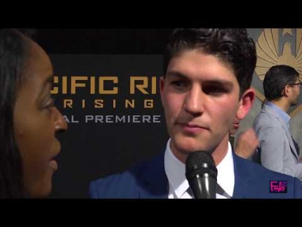 Rahart Adams at the Pacific Rim 'Uprising' premiere
