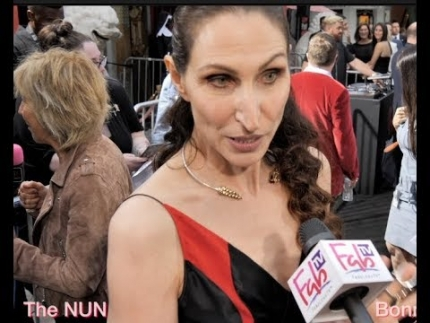 "Bonnie Aarons is 'The Nun' at ""THE NUN"" premiere"