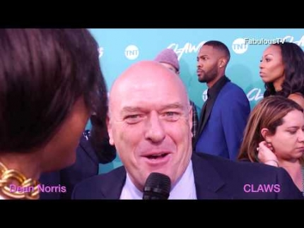 Dean Norris at 'CLAWS' premiere on FabulousTV
