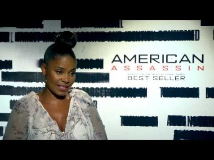 Sanaa Lathan 'Describes REAL Beauty' & her part in American Assassin