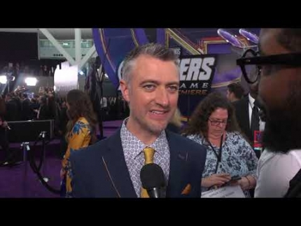"Sean Gunn at the ""AVENGERS End Game"" premiere"