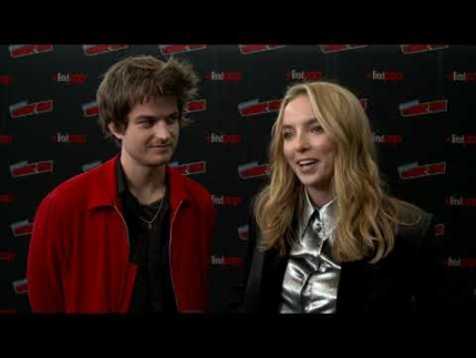 """Free Guy"" New York Comic Con with Jodie Comer"