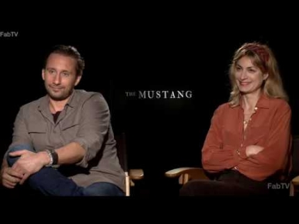 """THE MUSTANG"" with Director Laure de Clermont Tonnerreat  & actor Matthias Schoenaerts  on FabTV"