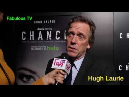 "Hugh Laurie at Hulu's ""Chance"" premiere Fabulous TV"