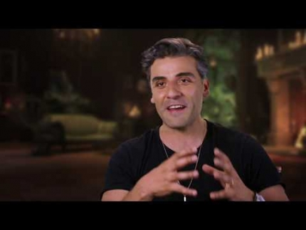 """The Addams Family"" with   OSCAR ISAAC GOMEZ"