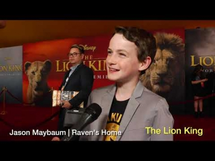 The Lion King world premiere with Jason Maybaum   Raven's Home
