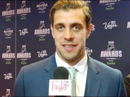 Anze Kopitar at the 2018 NHL Awards