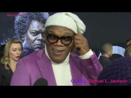 """Samuel L. Jackson  """"Glass"""" premiere"""