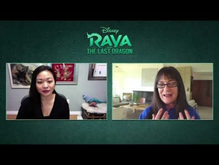 RAYA AND THE LAST DRAGON - Osnat Shurer (Producer) and Adele Lim...
