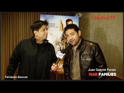 Juan Gabriel Pareja talks about his new film 'MAD FAMILIES' on CRACKLE
