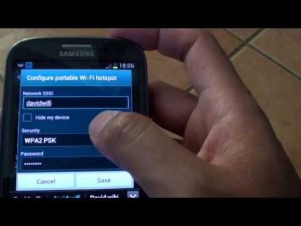 Samsung Galaxy S6: Enable Wi-Fi Hotspot for Free Internet