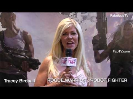 Tracey Birdsall stars in ROGUE WARRIOR: ROBOT FIGHTER on FabulousTV