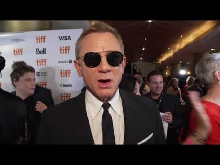 "Daniel Craig at the ""KNIVES OUT""  world premiere."