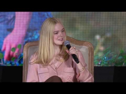 "Exclusive!  ""MALEFICENT: MISTRESS OF EVIL"" LA PRESS CONFERENCE PART 01"