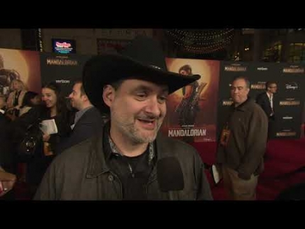 """THE MANDALORIAN"" world premiere with Dave Filoni"